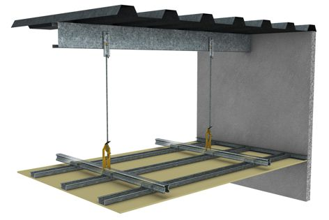 Rondo's Key-Lock offers contractors the option of an easy-to-install ceiling system that saves valuable time on site.