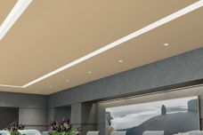 Ensemble ceiling system by USG Boral
