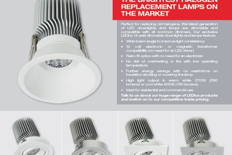 LED downlights by Beacon Commercial