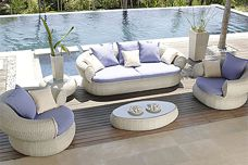 Outdoor fabrics by Sunbrella