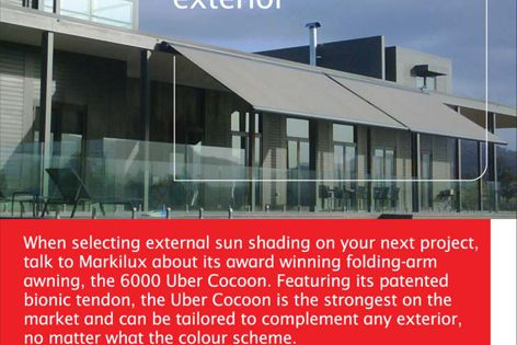 Markilux complements your exterior