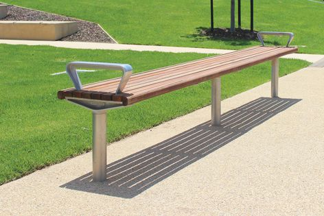 Furphy Foundry's Promenade furniture range can withstand the rigours of public use.