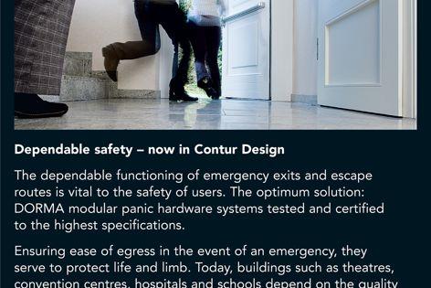 DORMA panic exit devices