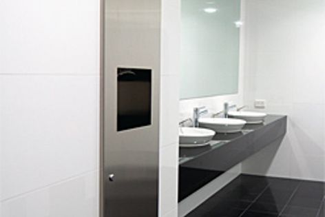 Bobrick products have been used in the washrooms of this new office development in WA.