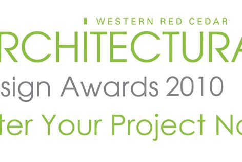 Entries are now open for the International Western Red Cedar Architectural Design Awards 2010.