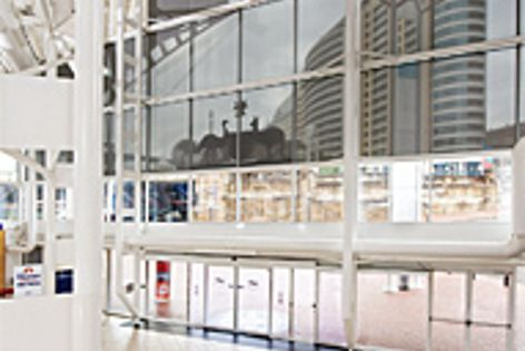 ECOVIEW® Plus fabric blinds used on the Australian National Maritime Museum to reduce sun and heat.