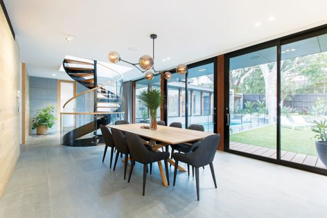 Available from Capral Aluminium, the sliding door offers panel sizes up to 3,000 mm in height and 2,500 mm in width.