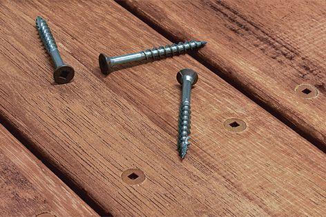 Hidden screws by Power Fasteners