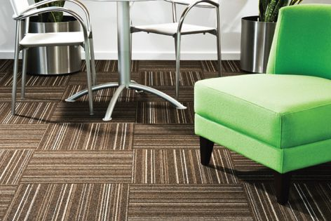 Skyline carpet tiles by EC Group