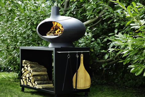 Morsø Forno is an outdoor oven, smoker, grill and fire.