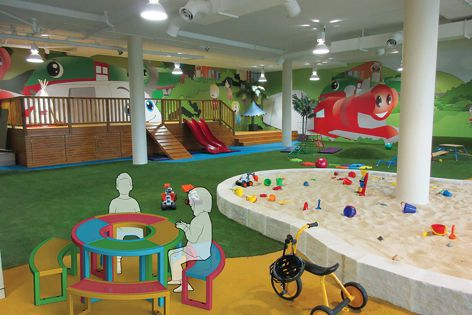 Town & Park's new range of furniture is suited for childcare centres and playgrounds.