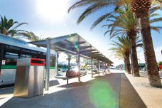 Scarborough bus shelter by Stoddart Outdoor Infrastructure