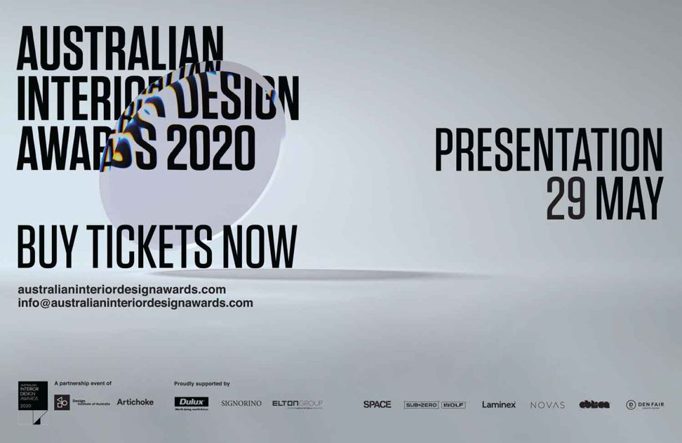 Australian Interior Design Awards 2020