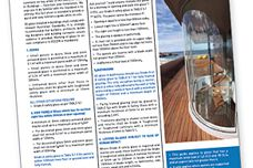New brochures explain glass standard