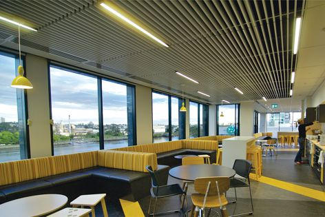 Supatile Slat is a perfect solution for quick and easy, creative ceiling transformations.