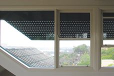 Blockout shutters for glass areas