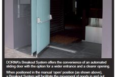 Dorma Automatics frameless system