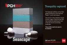 Seascape bricks from CSR PGH Bricks & Pavers