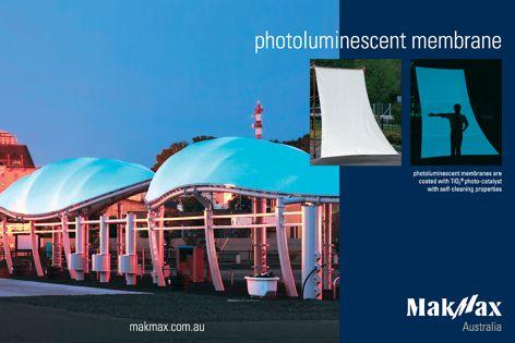 MakMax photoluminescent membrane