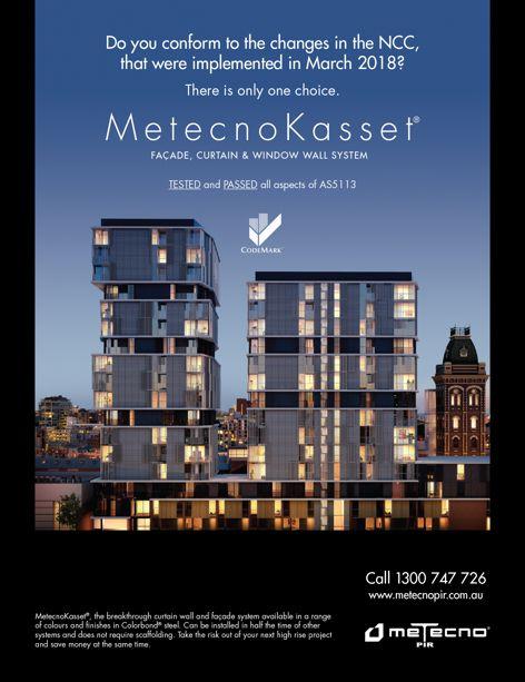 MetecnoKasset facade by Metecno PIR