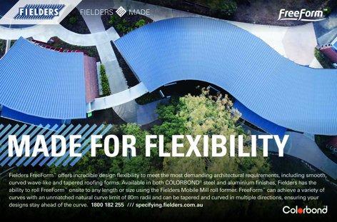 Freeform roofing by Fielders