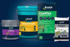 Tiling range by Bostik