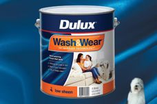 Wash & Wear low-sheen paint by Dulux