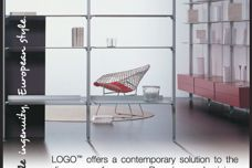 Logo shelving by Display Design