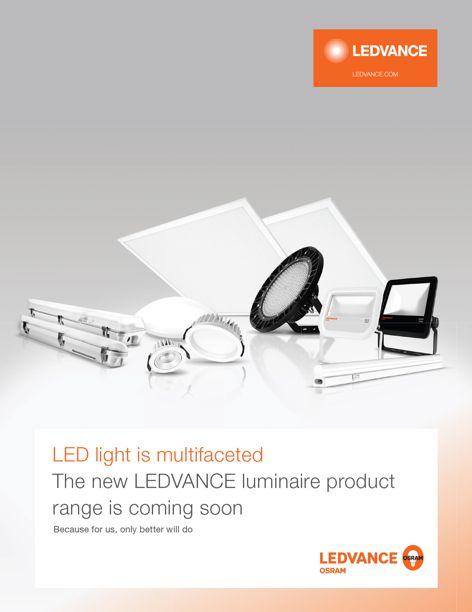 Ledvance LED luminaires by Osram