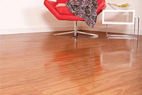 The Gloss Laminate boards from Big River are available in blackbutt, spotted gum and American oak.