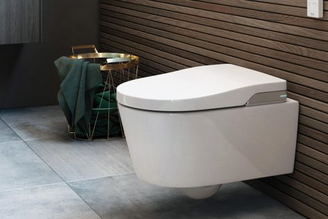 "Roca's In-Wash Inspira is a ""smart toilet"" featuring adjustable water and air pressure, LED night lighting, an auto-cleaning nozzle, user detection and more."