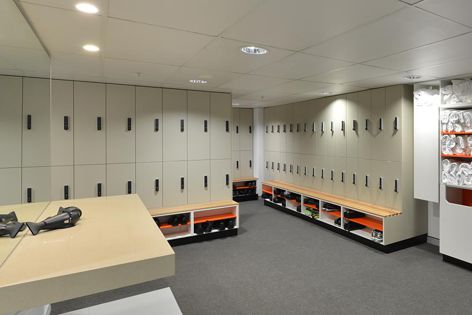 Stylish and secure, Cora Bike Rack change room lockers are designed for use in end-of-trip facilities.