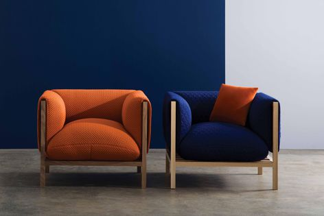 Loom chairs by Adam Goodrum for Cult.