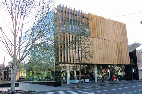 Surry Hills Library has used Wolfin GWSK Waterproofing Membrane on its green roof and rainwater tank