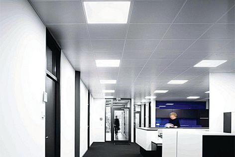 Slimpanel LED light fitting