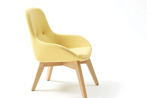 The Ivy timber chair has been licensed by GECA for its minimal impact on the environment.