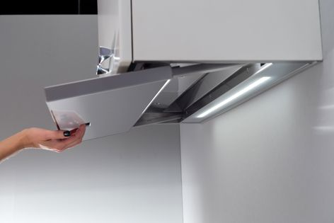 Vapore's design prevents excess water and condensation from falling onto the surface below.