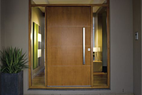 The Blade door is the latest addition to the William Russell Doors contemporary collection.