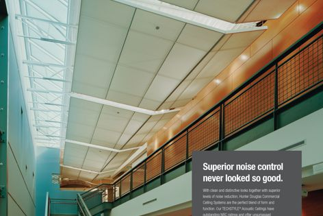 Superior noise control never looked so good