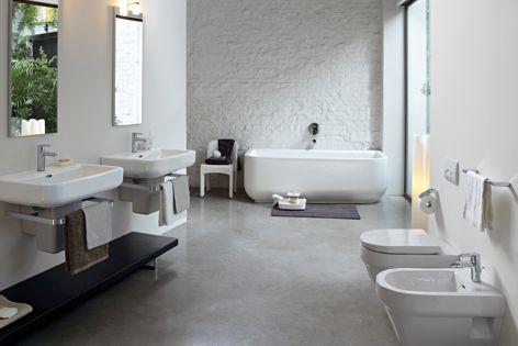 Phoenix Design created the Form bathroom range.