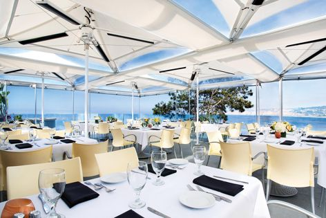 Heatray heating is ideal for open-air spaces.