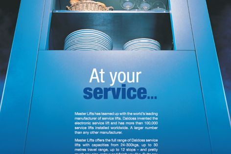 Electronic service lifts by Master Lifts