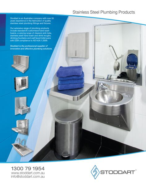 Plumbing products by Stoddart