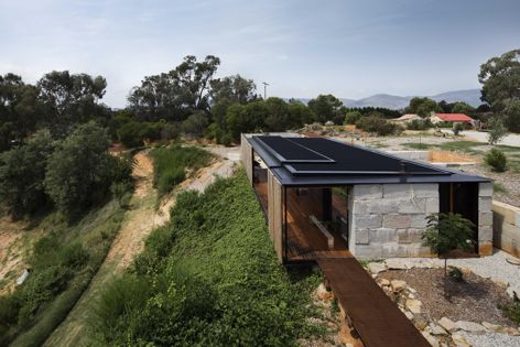 Sawmill House by Archier. Winner: New House under 200 m2. Photograph: Ben Hosking.