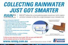 Rain IQ rainwater collection system
