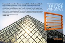 Louvre windows by Safetyline Jalousie