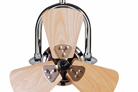 Vento fan by Mercator Lighting