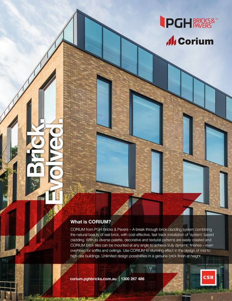 Corium from PGH Bricks and Pavers