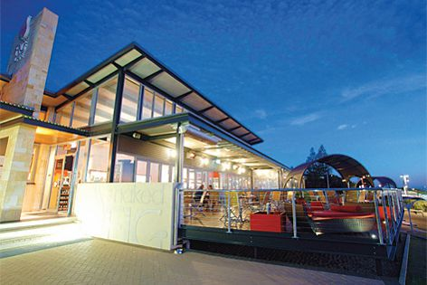 A project at Perth's Naked Fig Cafe was finished using MetecnoSpan insulated wall and roof panels.