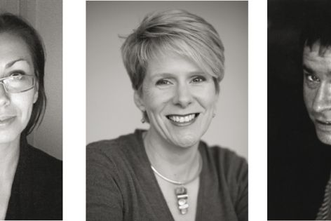Best New Product Award judges Kiri Johnson, Kirsten Orr and Tim Greer.